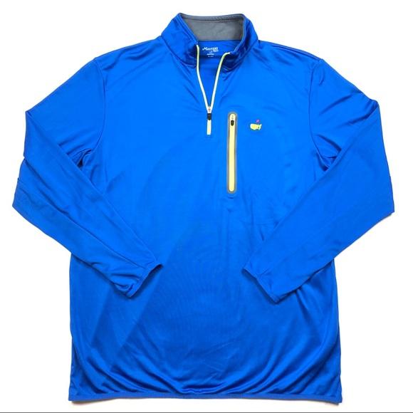 9a0a5209f078 Masters Tech Performance 1 4 Zip Golf Pullover XL.  M 5c578b82a5d7c68dc421263a